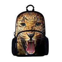 Backpack - 3D Leopard Image