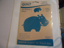 New Tattered Lace Quilt Zoo Animals Hippo Fabric Cutting Die
