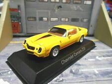 CHEVROLET Camaro Z28 Z/28 Coupe US Muscle Car V8 gelb 1980 Norev 1:43