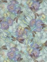 Jasmine Little Creatures Dragonfly Butterfly 100% cotton Fabric by the yard
