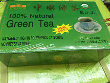 New Royal King Brand ORGANIC GREEN TEA 100 BAGS USDA CERTIFIED FAST SHIPPING