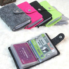 Unisex Travel Card Bus Pass Rail ID Credit Card Holder Case Small Pocket Wallet