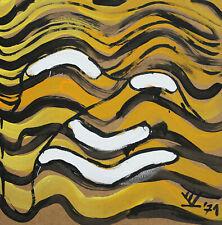 Gerhard Richter & Heinz Mack Freund Vincent van Volkmer orig. Gemälde signiert