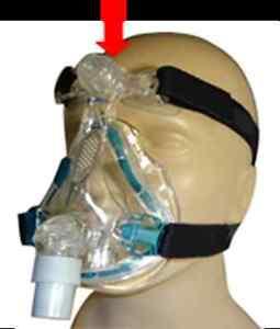 Pair of Forehead Mask Gel Pad  - CPAP MASK Forehead Gel Liners