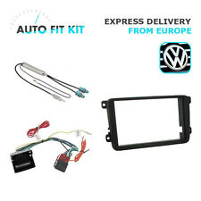 VW Passat Jetta Golf 2 Din Double DIN Fascia Radio Stereo Replacement Kit Fascia