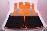 Yoko Sicherheitsweste Multi Functional Executive Hi-Vis, 3XL, Orange/Black *NEU*