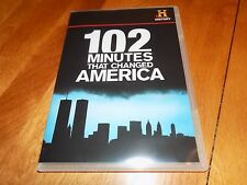 102 MINUTES THAT CHANGED AMERICA History Channel 9/11 Twin Towers Building DVD