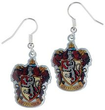 Harry Potter Gryffindor Silver Plated Earrings