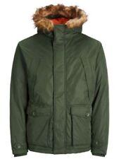 Cappotti e giacche da uomo verde JACK & JONES con cerniera