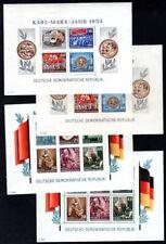 DDR 1953 BLOCK8-9A,B ** POSTFRISCH MARXBLOCKS 400€(I2811