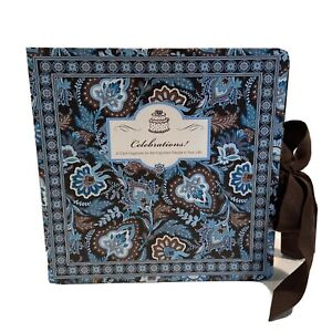 Vera Bradley Celebrations Card Organizer in Java Floral Paisley Greeting Cards