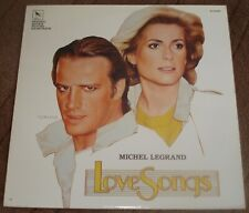 LOVE SONGS (Michel Legrand) original near mint USA stereo lp (1985)
