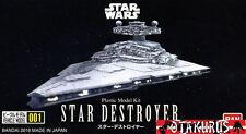 Star Destroyer Star Wars Vehicle Model 111MM Kit Figure Bandai Japan