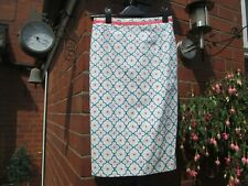 Boden Floral Modern Day Pencil Skirt - Size 8 Long RRP £65