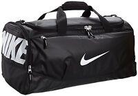 Nike Air Max Team Training Duffel Bag Medium Sports Holdall Gym Travel Bag Black