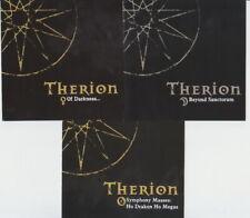 Therion 3CD SET (Of Darkness Symphony Masses Drakon Megas Beyond Sanctorum)