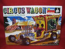 Monogram Plastic Model Kit - Circus Wagon 1 24