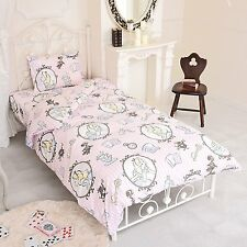Disney Alice in Wonderland bed cover three-piece set For a single bed PINK Japan