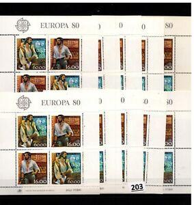 /// 10X PORTUGAL - MNH - EUROPA CEPT 1980 - VASCO DA GAMA - SHIPS
