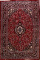 Traditional Hand-Knotted Ardakan Area Rug 8'x11' Vintage Floral Oriental Carpet