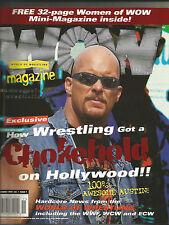 Steve Austin Covers WOW Magazine November 1999