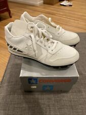 Converse Vintage Softball Shoes 80s Cleats Rare Shut Out Boys Size 4