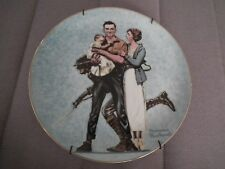 "Vintage Plate Norman Rockwell ""Their First Mother'S Day"" 1984 # 2281 Japan"