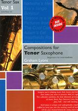 Composiciones Para Saxo Tenor Vol 1 Con Cd saxophone/piano Lyons