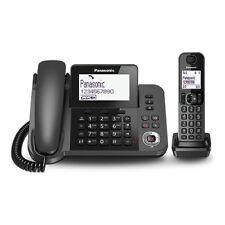 Panasonic KX-TGF320EXM TELEFONO FISSO + CORDLESS ID Chiamante VIVAVOCE