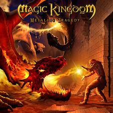 MAGIC KINGDOM - Metallic Tragedy Ltd. Digipak CD 2004 + Bonus Track Iron Mask