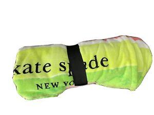 New Oversized 40x70 Kate Spade New York Beach Essential Towel Watermelon Slice