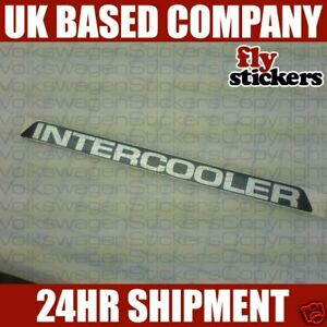 MK3 Polo Coupe G40 INTERCOOLER Decal / Sticker