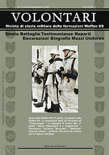 VOLONTARI n.13 - Storia militare Germania WW2 Waffen ss Krasny Bor Charlemagne