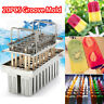 Ice Cream Molds Stainless Steel Ice Mold Pop Lolly Popsicle Stick 20/6pcs New