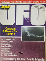 Argosy UFO Sept 1976 Sci-Fi Magazine Canada - Iron Curtain - Washington NoML VG