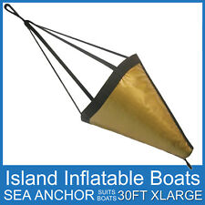 SEA ANCHOR DROGUE ✱ X-LARGE SUITS BOATS UP TO 30FT 9M ✱ DRIFTING BRAKE FREE POST