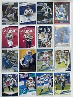 Los Angeles Chargers Card Lot Austin Ekeler Keenan Allen Joey Bosa KJ Hill RC