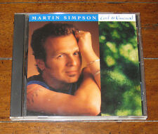 Martin Simpson - Cool and Unusual 1997 CD Red House RHR CD110 David Lindley NM