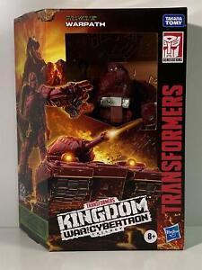 Transformers Kingdom War for Cybertron Trilogy Warpath Hasbro F0671