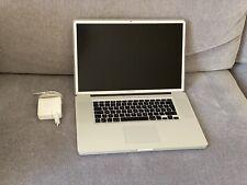 MacBook Pro 17 in 2009-intel duo core 3,06 Ghz, 8 Go, 120 SSD défectueux b777