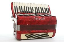 Accordion Scandalli Vintage LMMH 120 Bass Polifonico Brevetto Fisarmonica 13/6