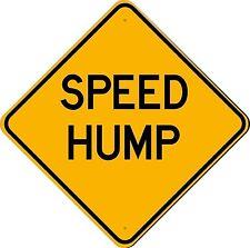 18x18 Speed Hump 3M Engineer Grade Reflective Aluminum Sign