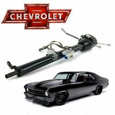 "1968-79 Chevy Nova Keyed Black Tilt Steering Column GM 33"" 307 396 LS 402 X-body"