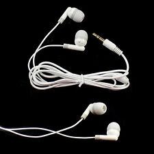 3.5mm Earbud Earphone Headphone Headest for iPhone MP3 MP4  PDA PSP Players