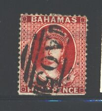 BAHAMAS 18 SG36 Used 1863-77 4p rose QVIC Wmk Crown CC Perf 14 Cat$50