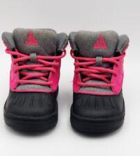 Nike 524878 600 Girls Toddler Pink Black Grey Woodside High 2 Boots 6C