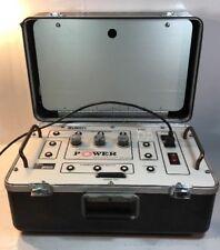 LIBERTY TECHNOLOGY MODEL MPM-100 AC/DC MOTOR POWER MONITOR W/ LEADS & PROBES