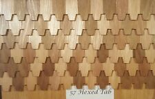 Doll House Shingles - Hexagon Tab