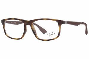 Ray Ban RB7055 2012 Eyeglasses RayBan Men's Havana/Silver/Brown Optical Frame