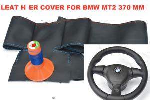 COVER steering wheel MT2 technik for BMW E36 E34 Automotive leather + M thread